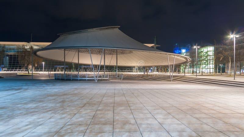 Fase della plaza nella plaza dell'Expo di Hannover immagini stock libere da diritti