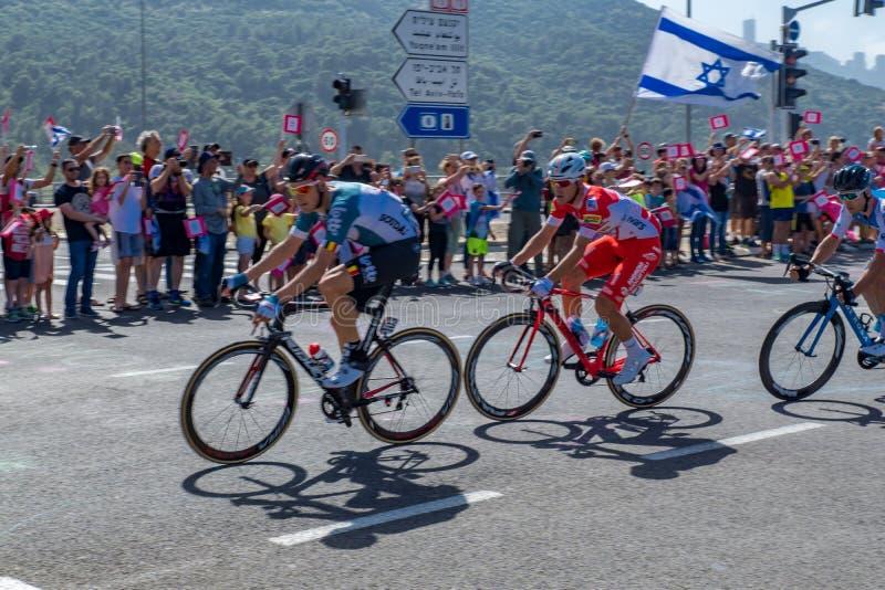Fase 2 do Giro 2018 d Italia imagens de stock royalty free
