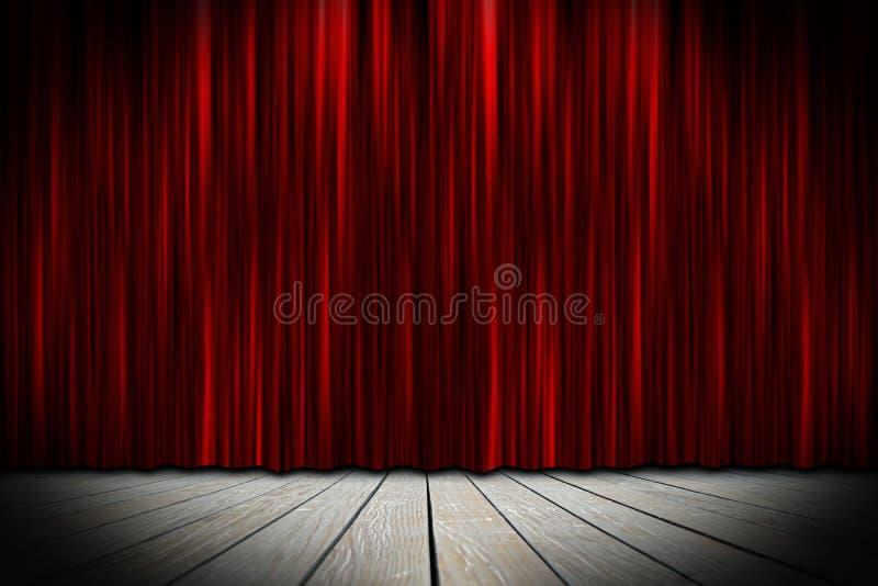 Fase do teatro foto de stock royalty free