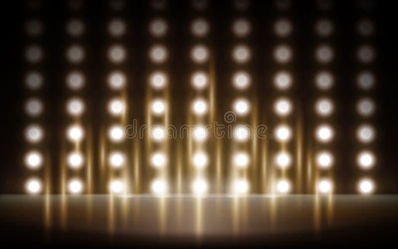 Fase macchiata luce illustrazione vettoriale