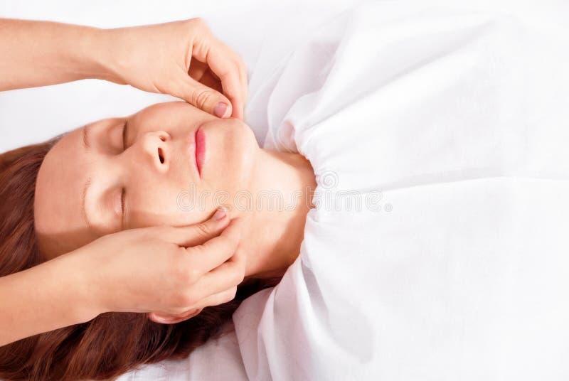 Fase massage royalty free stock images