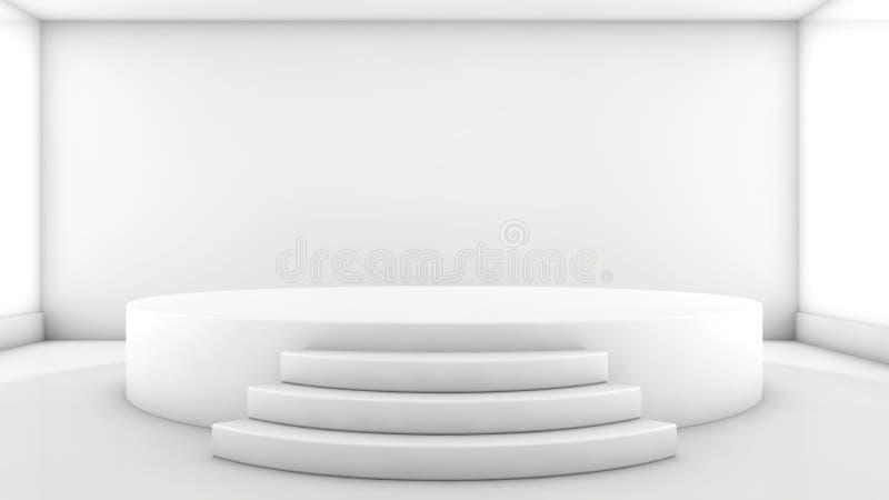 Fase redonda ilustração royalty free