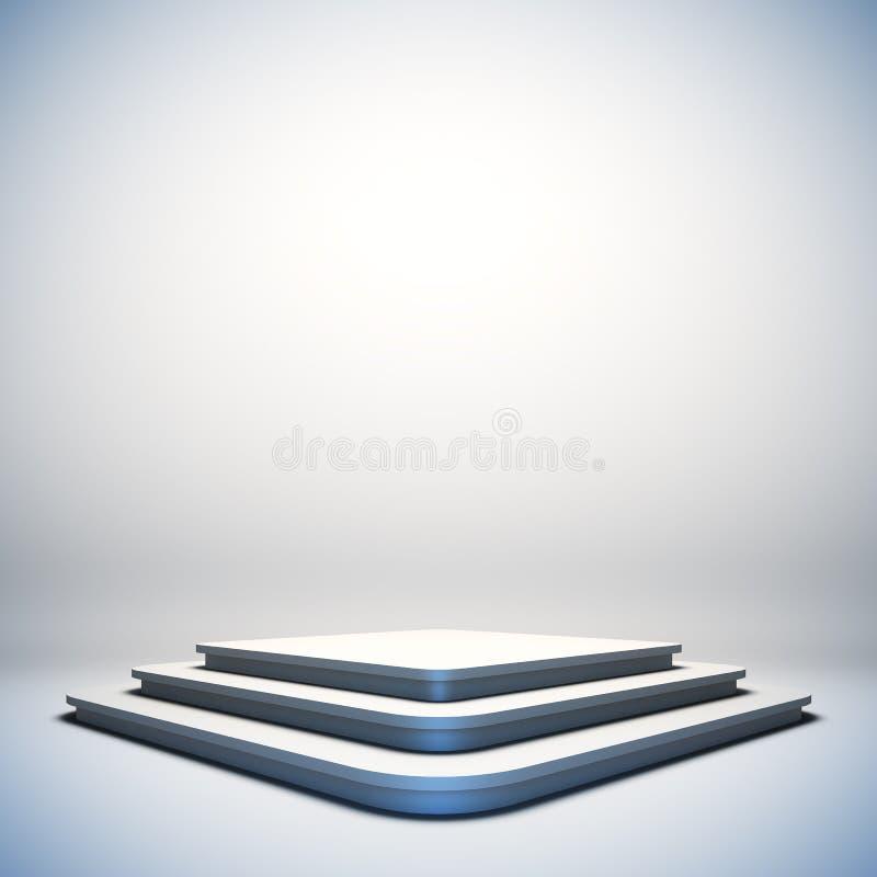 Fase vazia branca ilustração royalty free