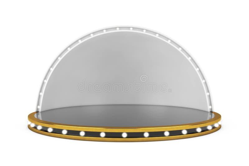 Fase vuota con gli indicatori luminosi rappresentazione 3d royalty illustrazione gratis