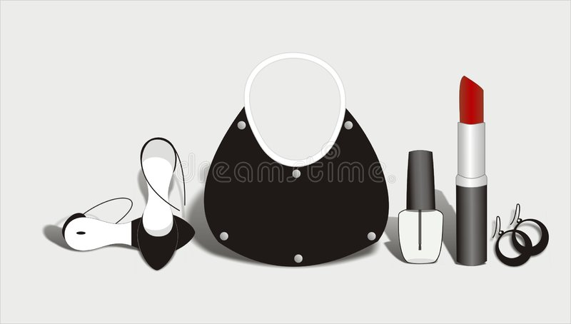 Fashion and Accessories stock illustration