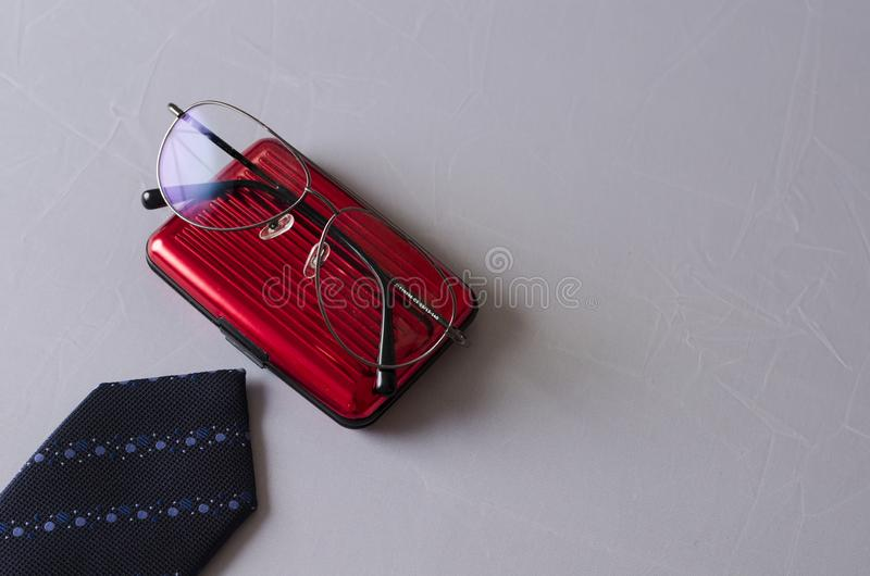 Fashion Accessories for a Business Man stock photography