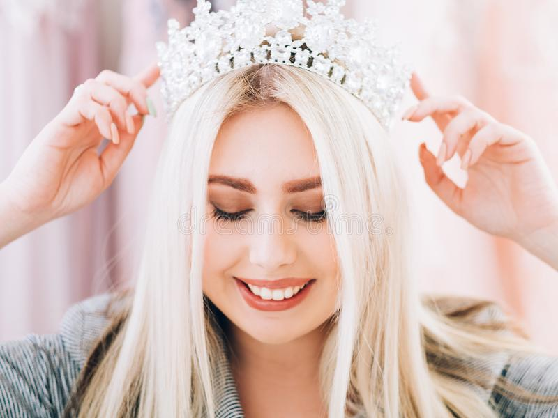 Fashion accessories lady special occasion look royalty free stock photo