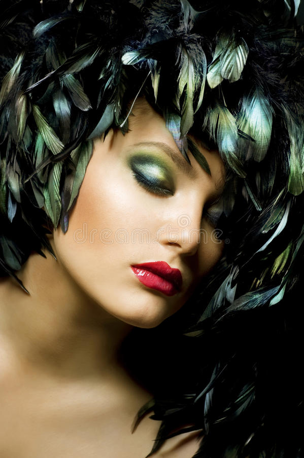 Fashion Art Portrait Stock Photography