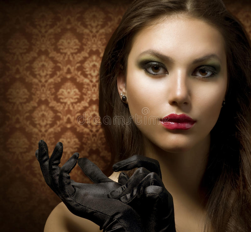 Download Fashion Art Portrait stock image. Image of eyes, cosmetic - 19479135