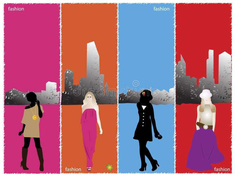 Fashion banner vector illustration