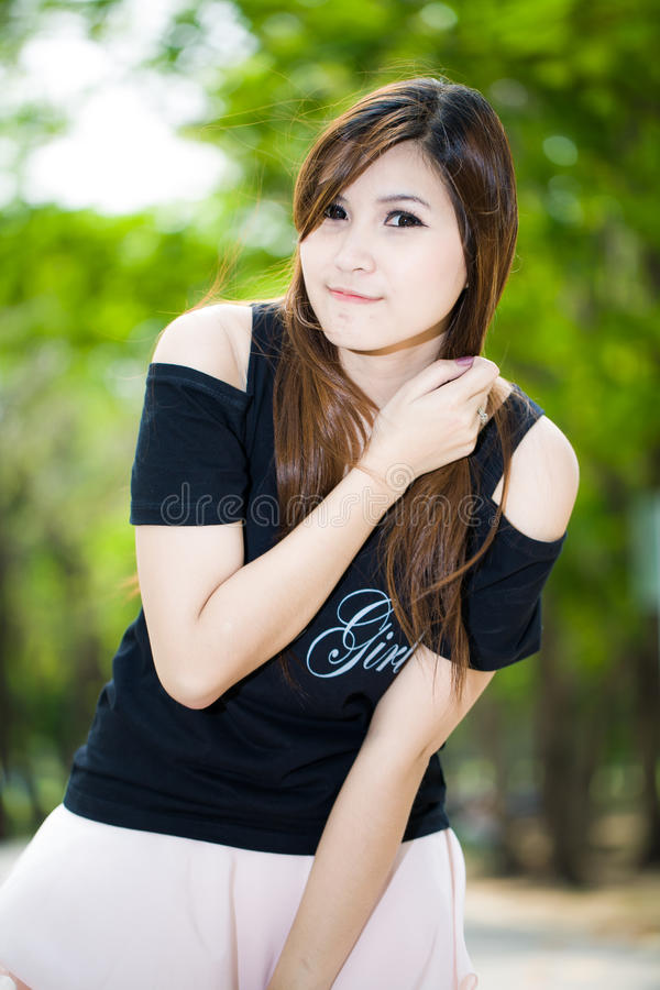 Download Fashion Beautiful Young Woman Outdoors Portrait Stock Photo - Image: 29050284
