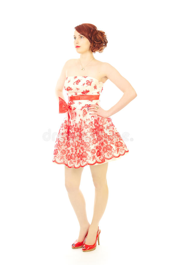 Download Fashion beauty 50s style stock photo. Image of head, modeling - 15400240