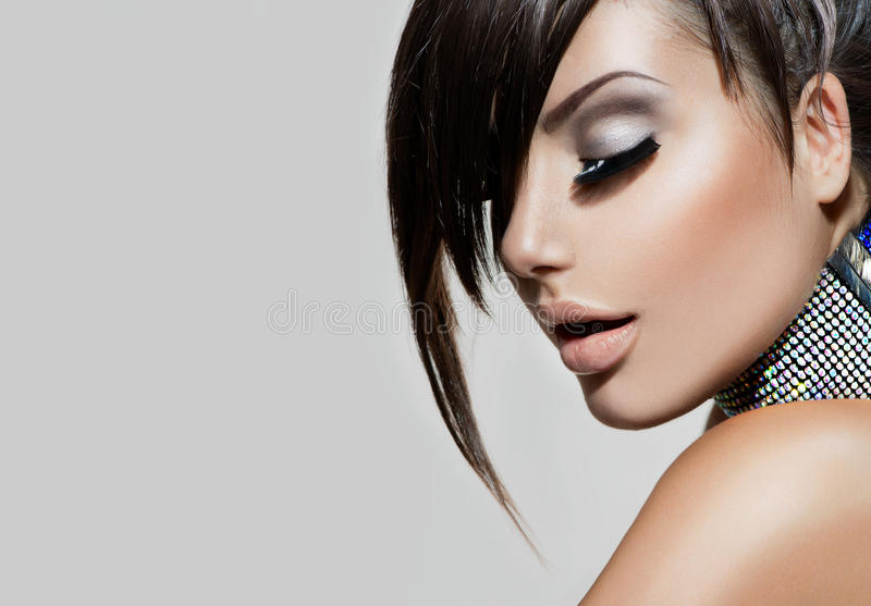 Fashion Beauty Girl royalty free stock photo