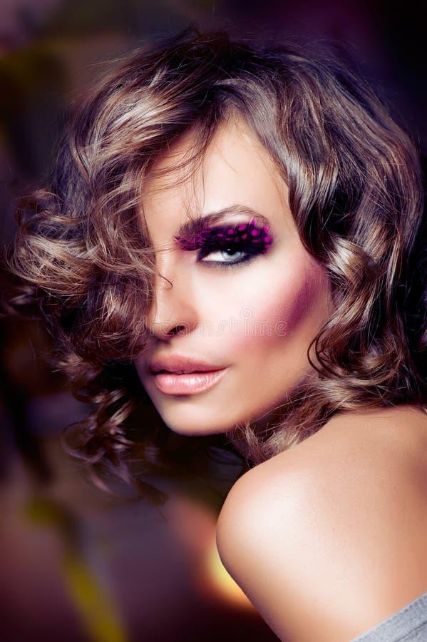 Download Fashion Beauty Portrait stock photo. Image of make, facial - 21779420