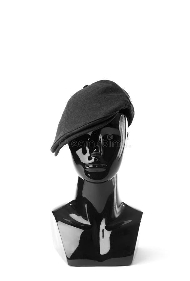 Fashion black mannequin stock image