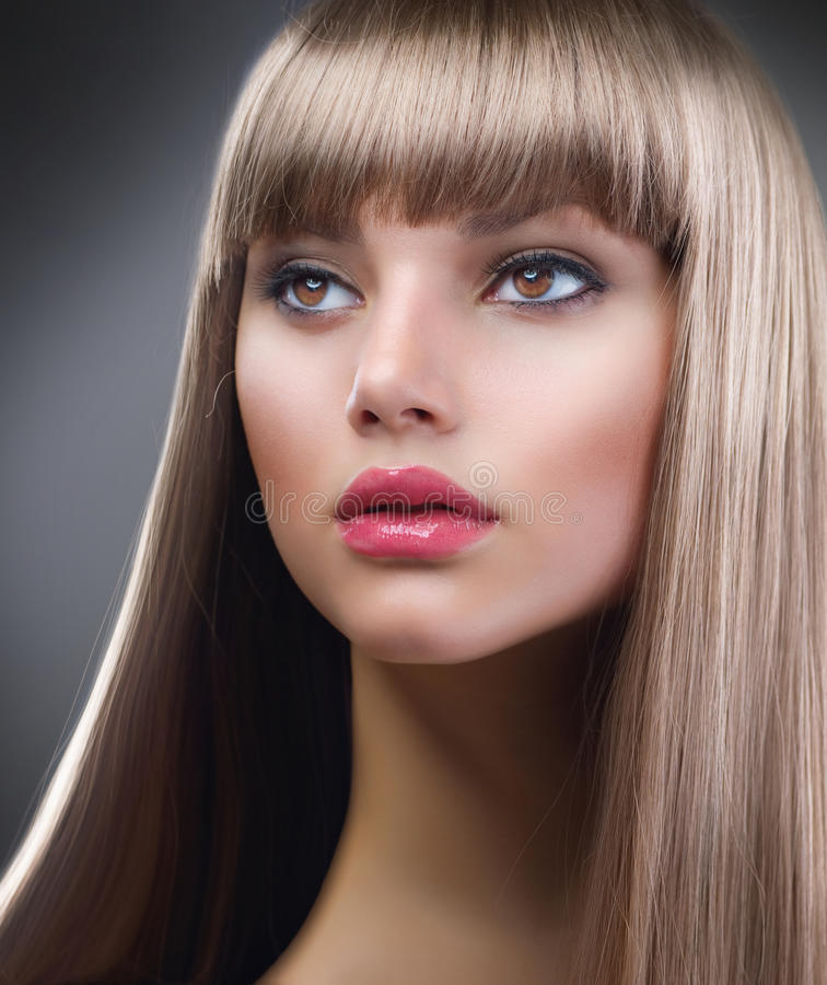Download Fashion Blond Girl stock image. Image of clean, cosmetic - 23228545