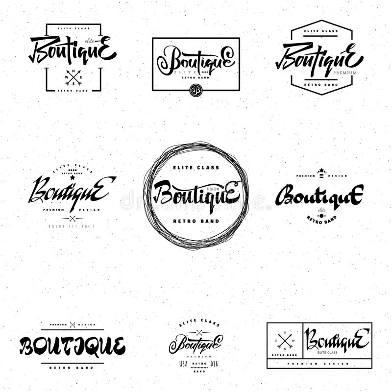 elit templates sticker - fashion boutique premium badge logo sticker elite