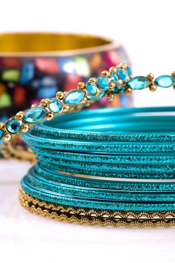 Download Fashion Bracelets On White Background Stock Photo - Image: 14027912