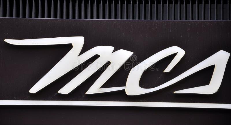 Fashion brand logo, Marlboro Classics brand name royalty free stock images