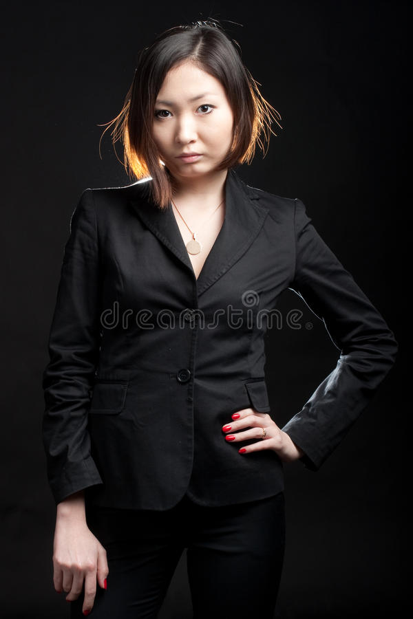 Fashion business woman royalty free stock images