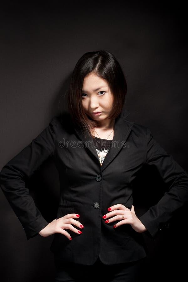 Fashion business woman stock photography