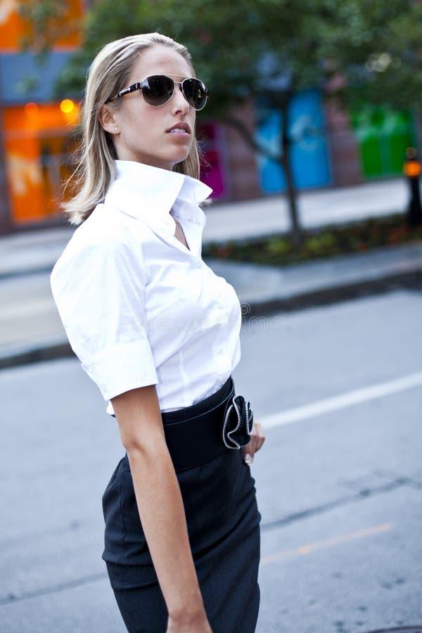 Free Fashion Businesswomen Downtown Royalty Free Stock Photography - 15039947