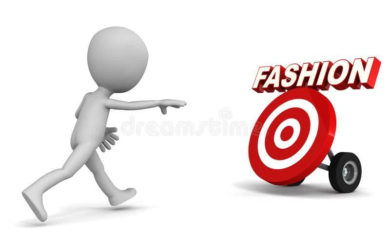 Download Fashion chase stock illustration. Image of running, target - 31738756