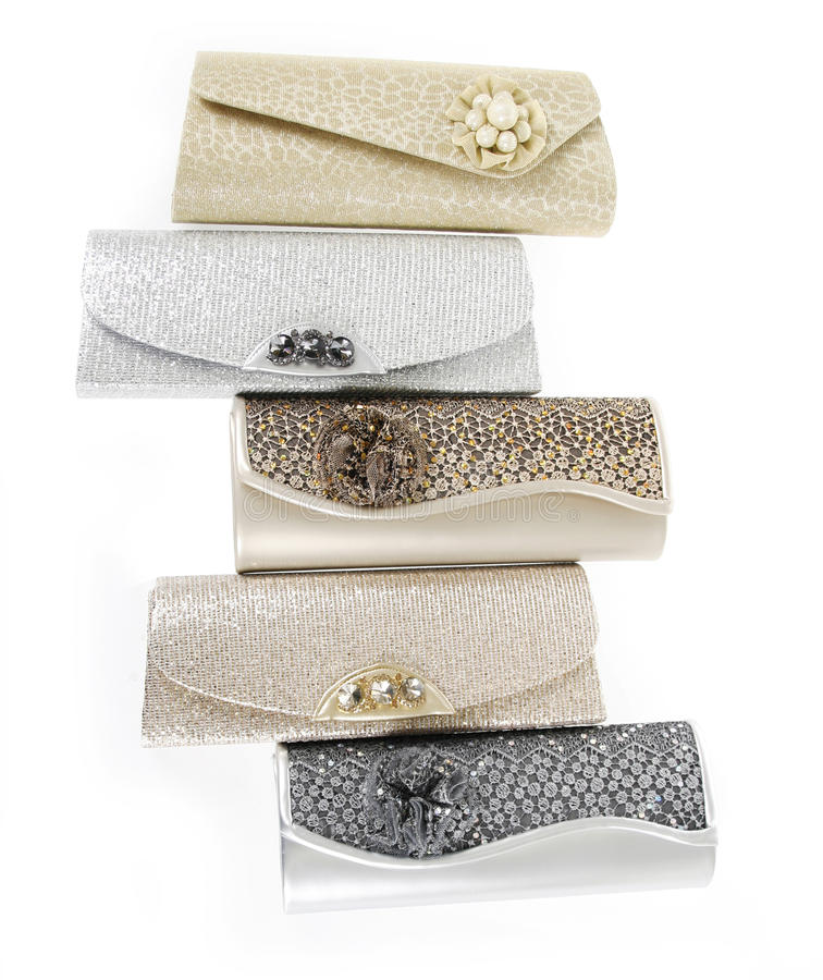 Fashion Clutch Bags Stock Photography