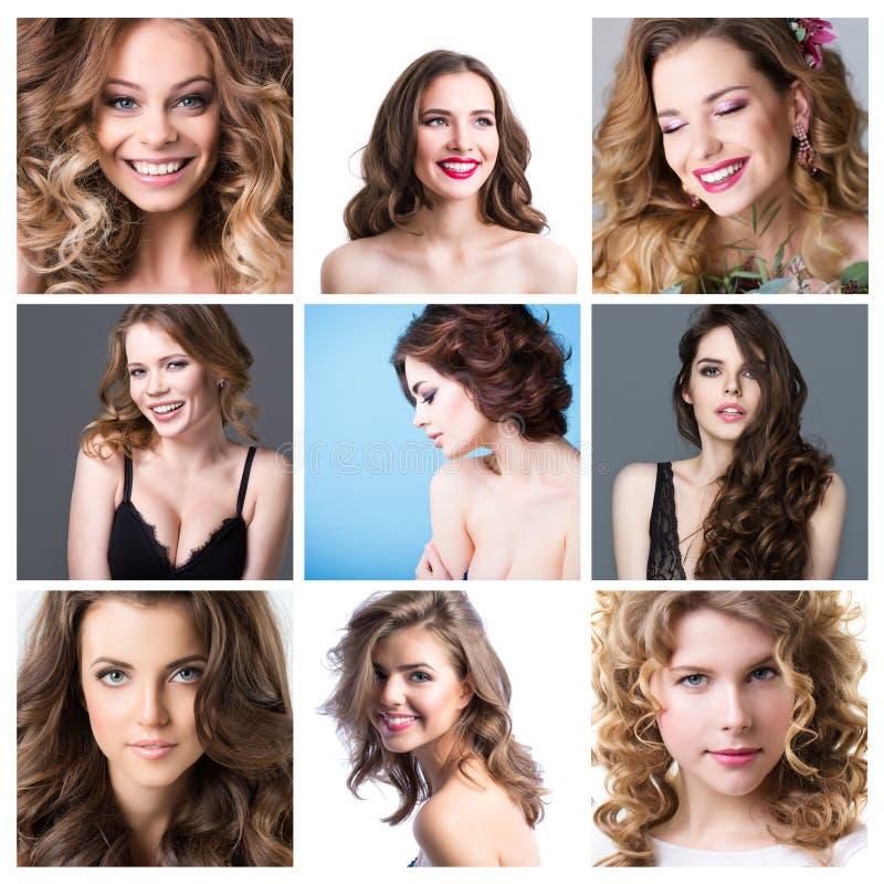 Fashion collage. stock photo