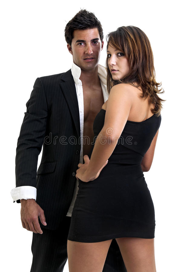 Fashion couple stock images