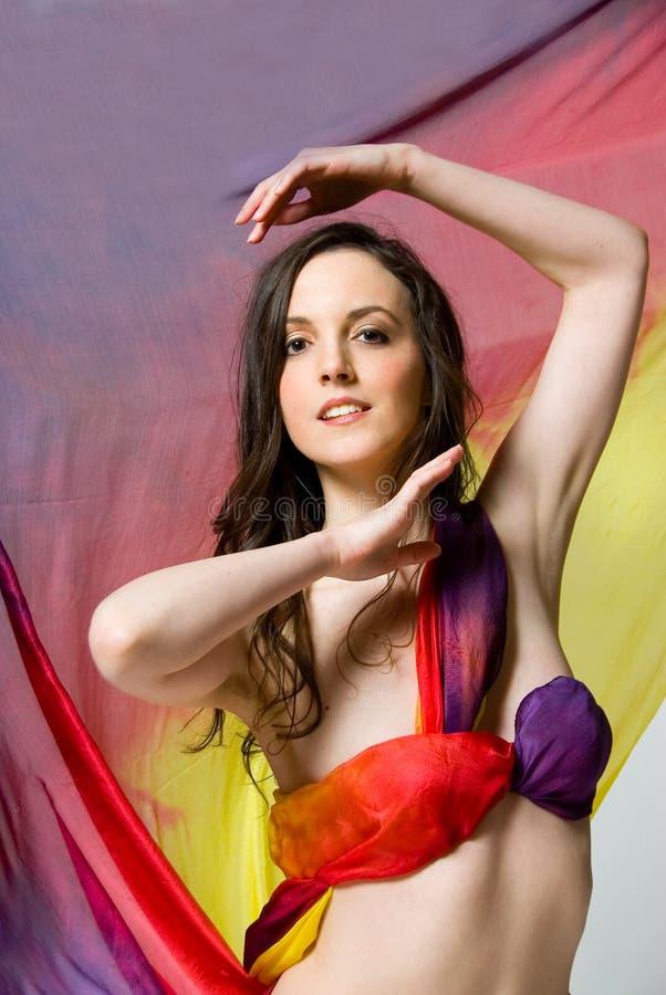 Fashion dancer royalty free stock photos
