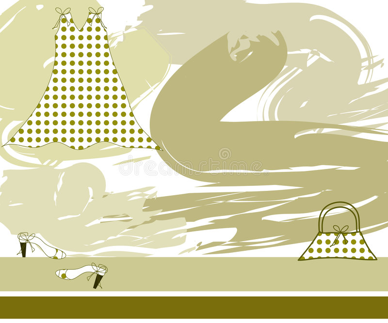 Download Fashion design stock illustration. Illustration of background - 2323936