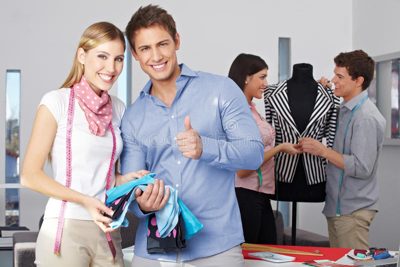 Download Fashion Design Student Holding Stock Photo - Image: 27003536