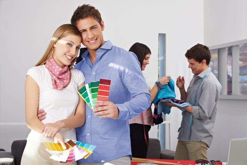 Download Fashion Designer Holding Color Stock Image - Image: 26868109