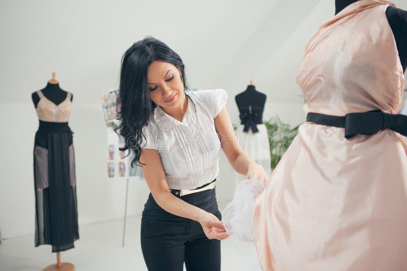 Fashion Designer Working At Her Studio Stock Photo Image 34870960