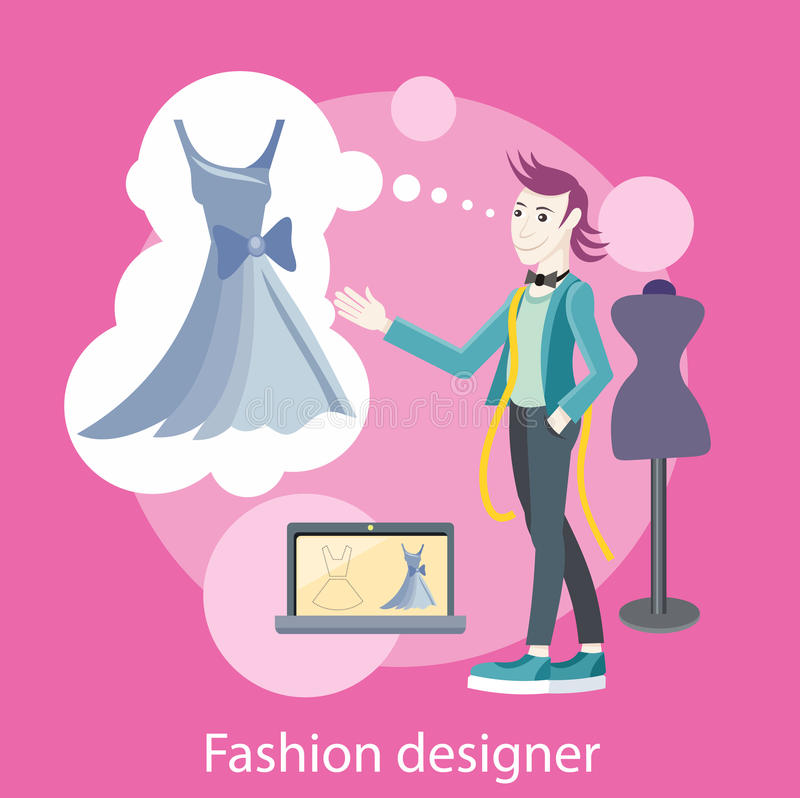 Fashion Designer Stock Vector Image 52460430
