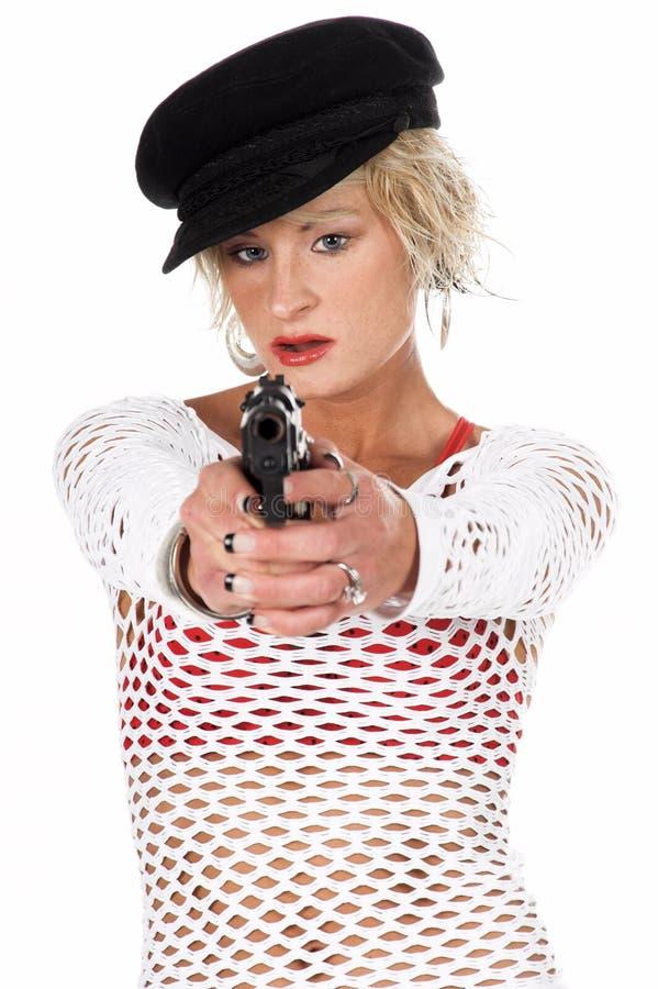 Fashion Diva Gangster stock image