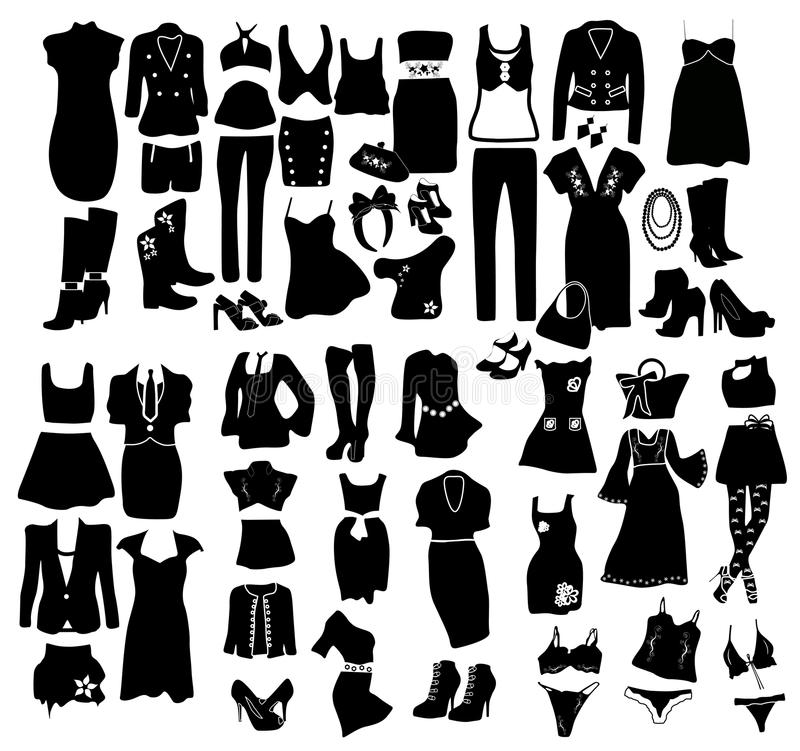 Download Fashion elements stock vector. Illustration of beautiful - 20089251