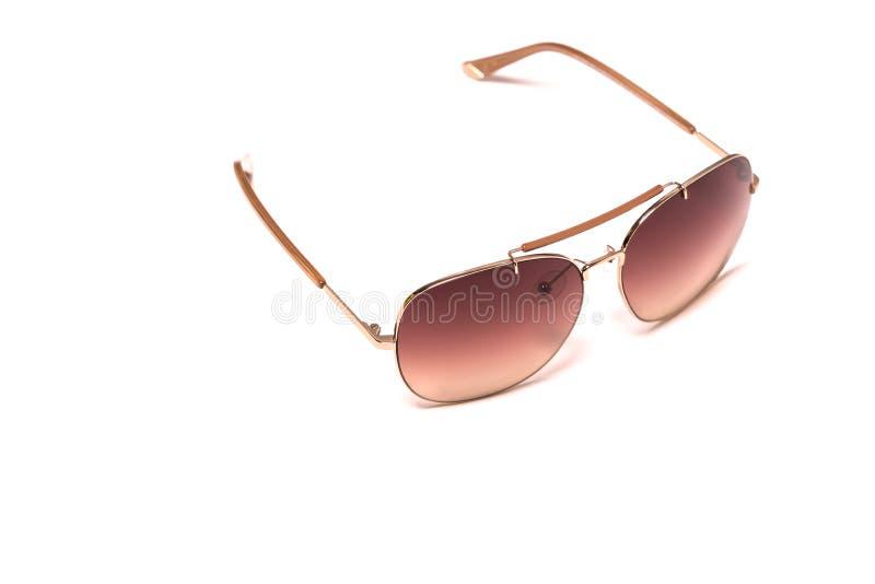 The fashion eyeglasses isolated on white backgrounds stock photo