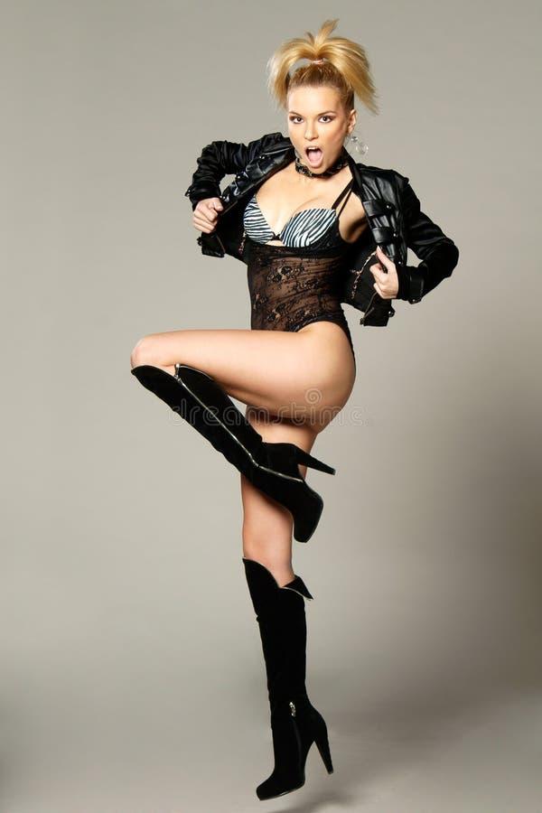 Fashion female model royalty free stock images