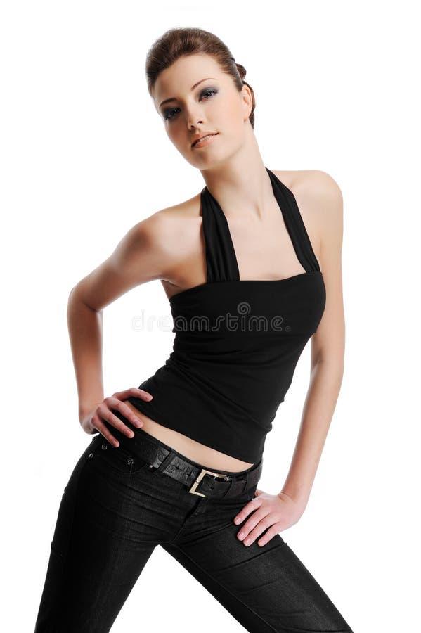 fashion female model pretty στοκ φωτογραφία