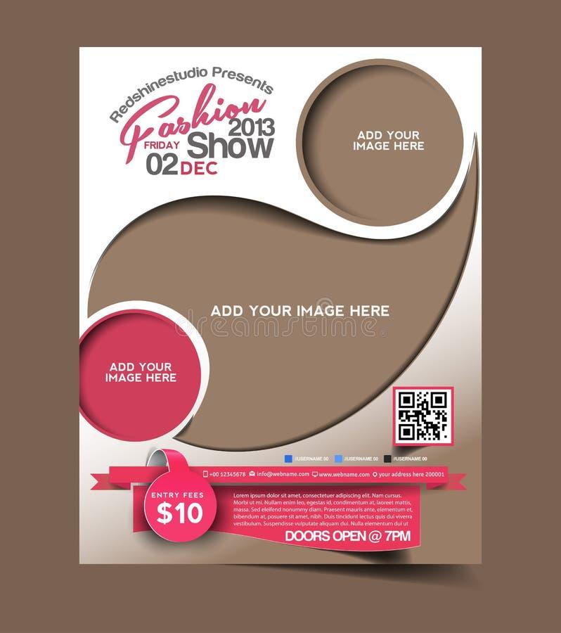 Fashion Flyer Design vector illustration