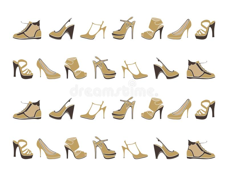 Download Fashion Footwear Pattern Stock Photos - Image: 31787463