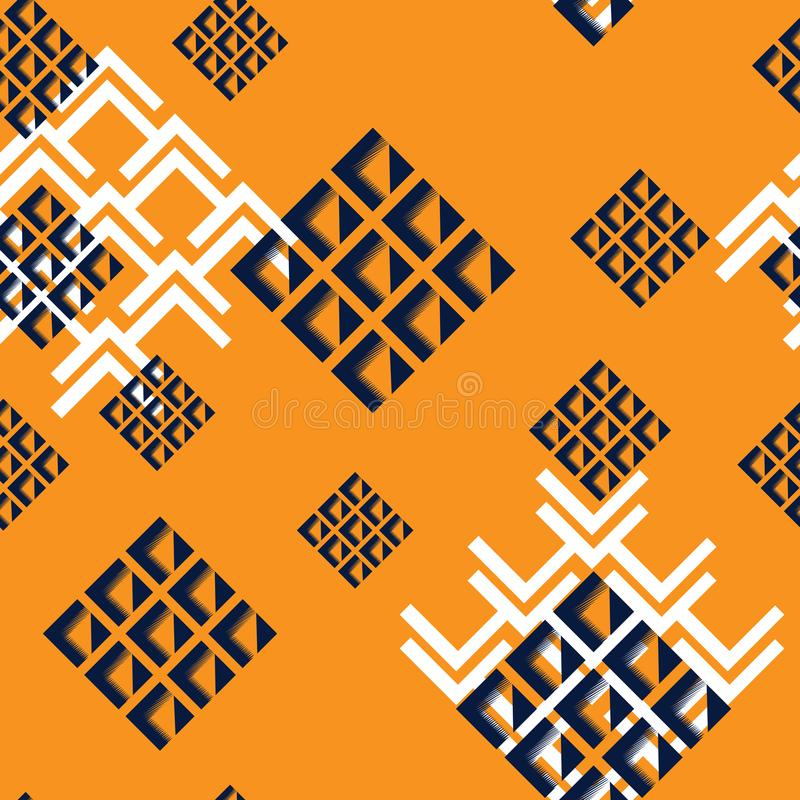 Fashion Geometric Dynamic Sport Seamless Pattern. Abstract Seamless Geometric Dynamic Sport Pattern, Fashion Urban Repeated Backdrop for Boys, Textile, Wrapping vector illustration