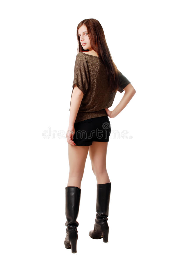 Free Fashion Girl Royalty Free Stock Photo - 10414155