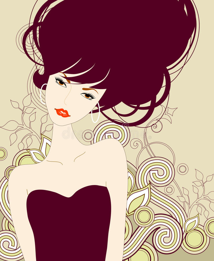 Download Fashion girl stock vector. Image of woman, illustration - 11452835