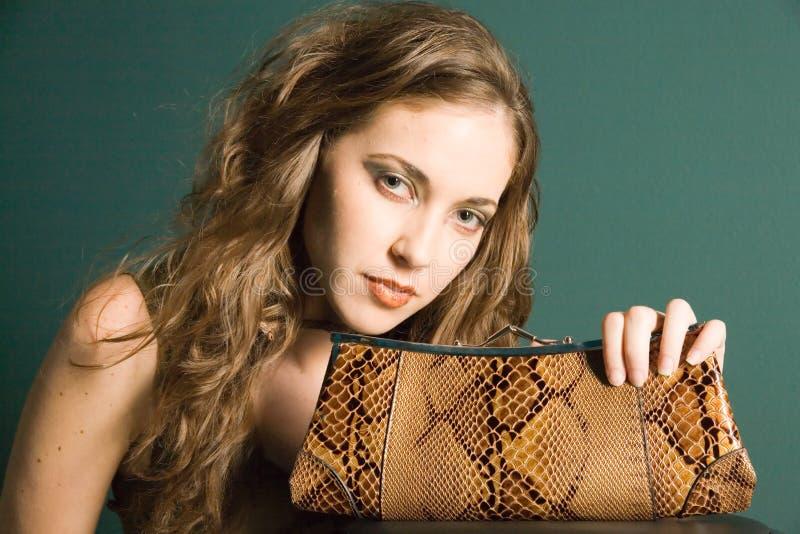 fashion girl obraz stock