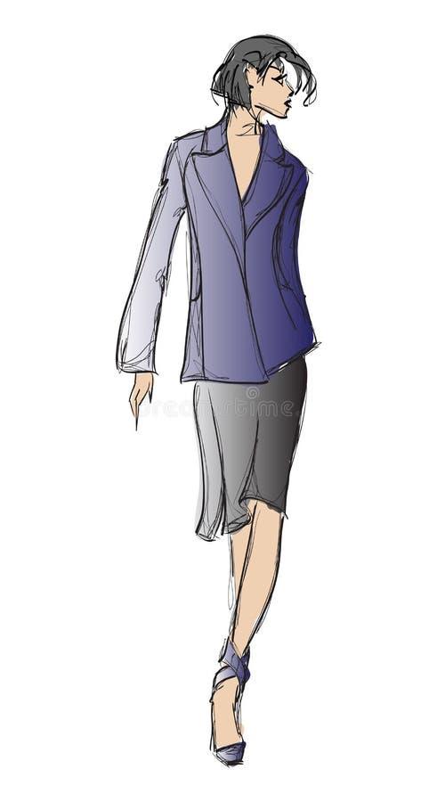 Download Fashion Girl. Stock Image - Image: 24992961