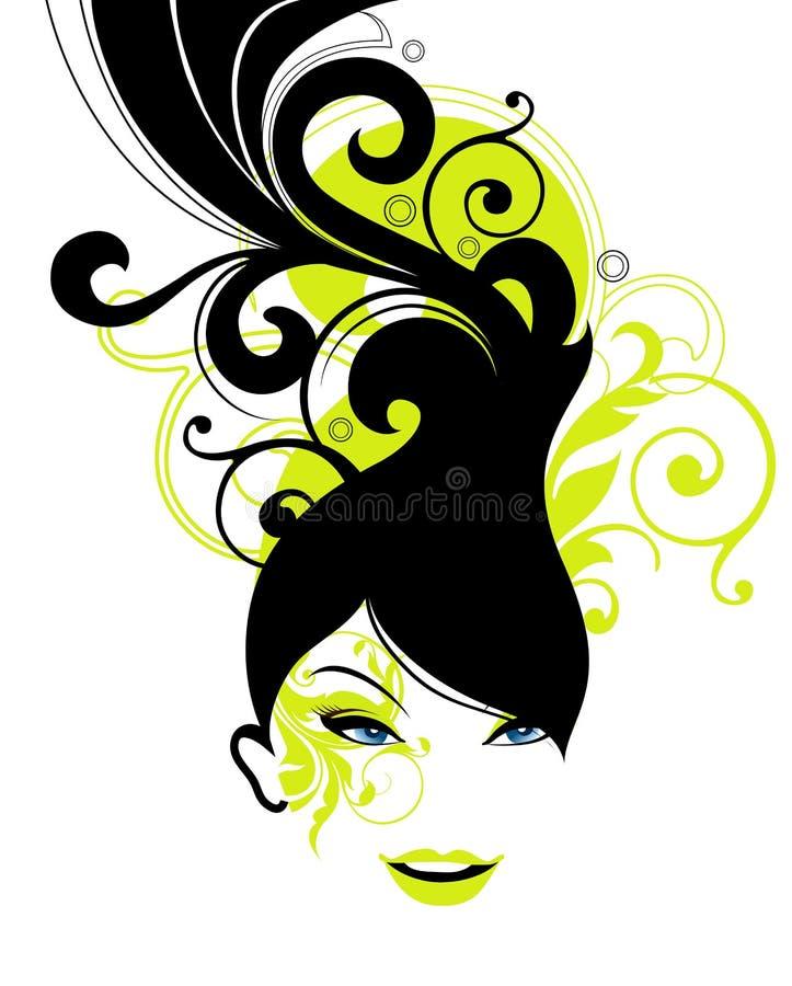 fashion girl ilustracja wektor