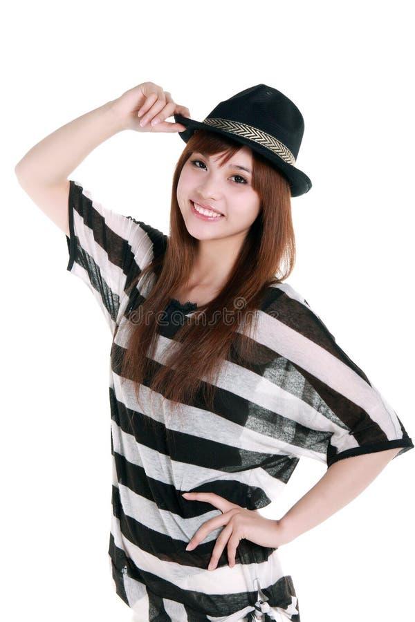 Download Fashion girl. stock photo. Image of beautiful, cowboy - 7524734
